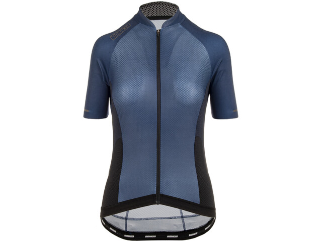 Bioracer Sprinter SS Jersey Cold Black Light Women, navy